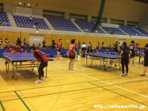 さいたま市クラブ対抗春季リーグ卓球大会 写真